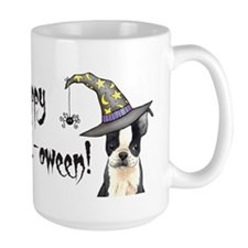 Halloween Boston Terrier Mug