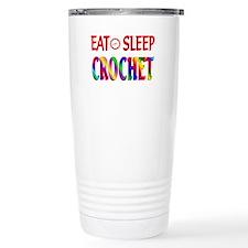 Eat Sleep Crochet Travel Mug