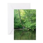 Tennessee creek Greeting Cards