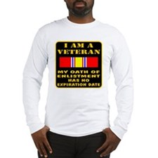 I Am A Veteran Long Sleeve T-Shirt