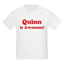 Quinn is Awesome Kids T-Shirt