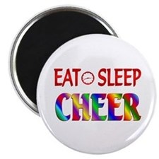 "Eat Sleep Cheer 2.25"" Magnet (10 pack)"