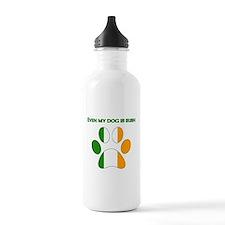 Even My Dog Is Irish Water Bottle