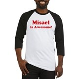Misael is Awesome Baseball Jersey