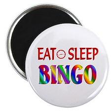"Eat Sleep Bingo 2.25"" Magnet (10 pack)"