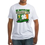 """""""Beer Whore"""" Fitted T-Shirt"""