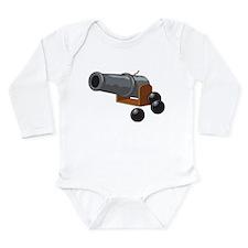 Cannonball Long Sleeve Infant Bodysuit