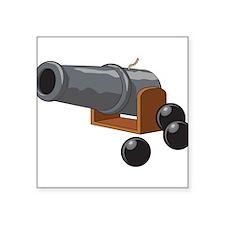 """Cannonball Square Sticker 3"""" x 3"""""""