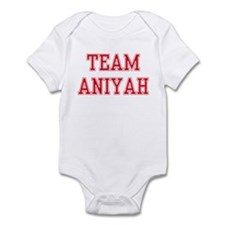 TEAM ANIYAH  Infant Bodysuit