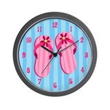 Cute Beach Wall Clock