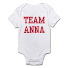 TEAM ANNA  Infant Bodysuit