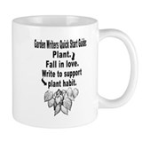 Garden Writers Quick Start Guide Small Mug