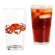 King Crab Drinking Glass