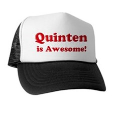 Quinten is Awesome Trucker Hat