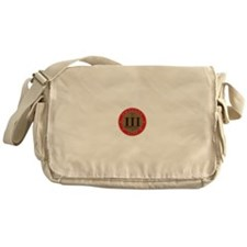 Come and Take It - Trace Red Messenger Bag