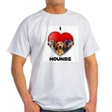 St Valentines Hounds - WWT T-Shirt