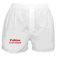 Fabian is Awesome Boxer Shorts