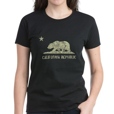 Vintage California Republic Womens T-Shirt