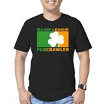 """""""Major League Pubcrawler"""" Fitted Tee"""