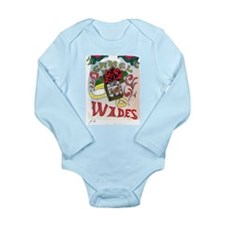 My Version of Camel Wides Long Sleeve Infant Bodys