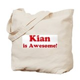 Kian is Awesome Tote Bag
