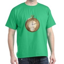 Gold Pocket Watch T-Shirt