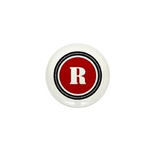Red Mini Button (10 pack)