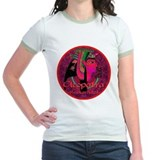 Cleopatra Reincarnated Ruby Carpet T-Shirt