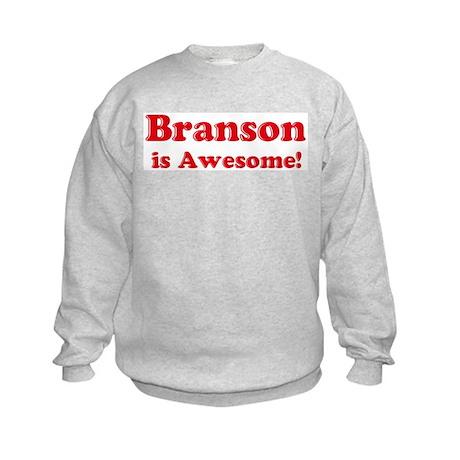 Branson is Awesome Kids Sweatshirt