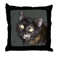 Cute Kitty cat Throw Pillow