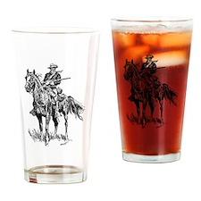 Unique Cavalry Drinking Glass