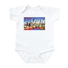 St Louis Missouri Greetings Infant Bodysuit