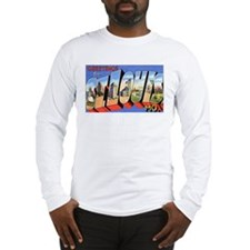 St Louis Missouri Greetings (Front) Long Sleeve T-