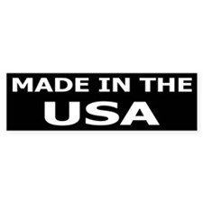 Made in the USA Bumper Bumper Sticker