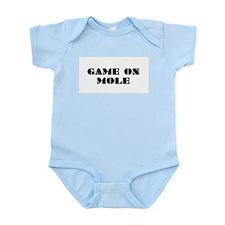 Game on Mole Infant Bodysuit