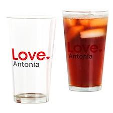 Love Antonia Drinking Glass