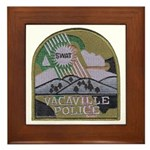 Vacaville PD SWAT Framed Tile