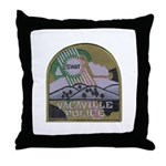 Vacaville PD SWAT Throw Pillow