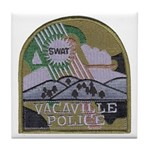 Vacaville PD SWAT Tile Coaster