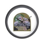Vacaville PD SWAT Wall Clock