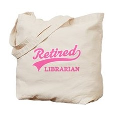 Retired Librarian Gift Tote Bag