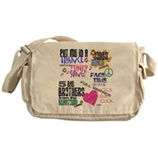 Funny Joe mcintyre Messenger Bag
