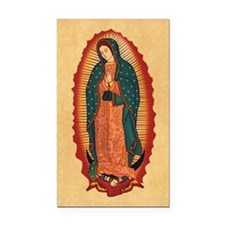Virgin Of Guadalupe Rectangle Car Magnet