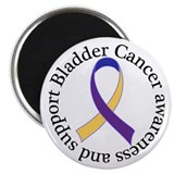 Bladder Cancer Awareness Support Magnet