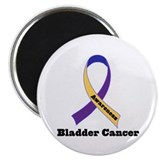 "Bladder Cancer Awareness Support 2.25"" Magnet (10"
