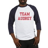 TEAM AUDREY  Baseball Jersey