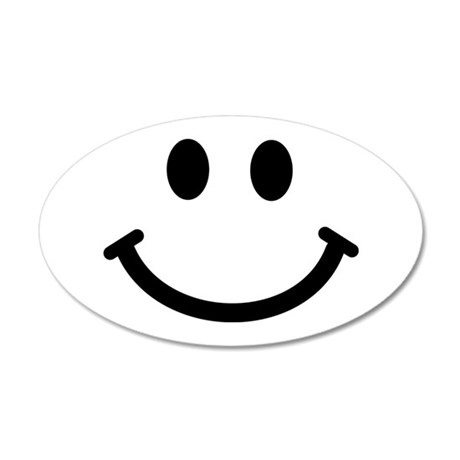 Smiley face Wall Decal