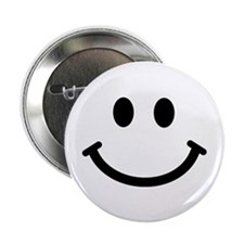 "Smiley face 2.25"" Button (10 pack)"