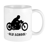 Old School Motorcycle (male) Mug