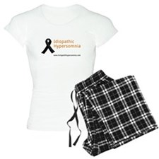 Idiopathic Hypersomnia Black Ribbon pajamas